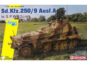 Dragon - Sd.Kfz.250/9 Ausf.A le.S.P.W 2cm, Model Kit tank 6882, 1/35
