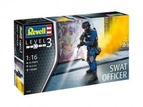 Revell - důstojník SWAT, Plastic ModelKit 02805, 1/16