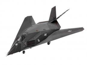 Revell - Lockheed Martin F-117A Nighthawk, ModelSet 63899, 1/72