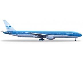 Herpa - Boeing  B 777-306ER, dopravce KLM Royal Dutch Airlines, Nizozemí, 1/500