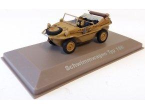 Atlas Models - KdF 166 Schwimmwagen, německá armáda, 1/43