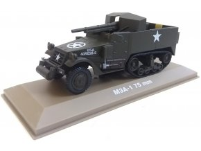 Atlas Models - M3A1 samohybné dělo se 75mm kanónem, US Army, 1/43