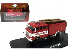 Atlas Models - Ifa W50, hasičské auto, 1/72