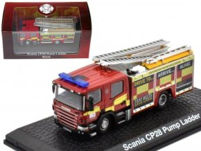 Atlas Models - Scania CP28, hasičské auto, 1/72