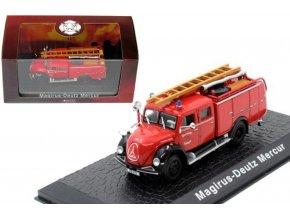 Atlas Models - Magirus Deutz Mercur, hasičské auto, 1/72