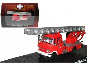 Atlas Models - Mercedes Benz L319, hasičské auto, 1/72