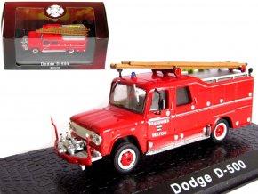 Atlas Models - Dodge D500, hasičské auto, 1/72, SLEVA 50%