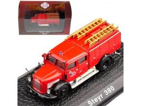 Atlas Models - Steyr TLF 380, hasičské auto, 1/72