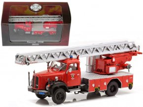 Atlas Models - Saurer 2 DM, hasičské auto, 1/72