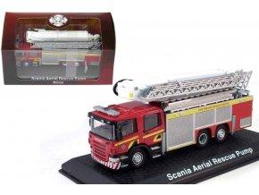 Atlas Models - Scania Aerial Pumper/CAS+AZ, hasičské auto, 1/72