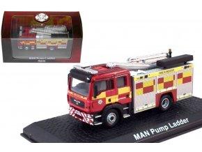 Atlas Models - Man F16, hasičské auto, 1/72