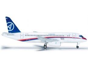 Herpa - Suchoj Superjet 100, společnost Sukhoi, Rusko, 1/500