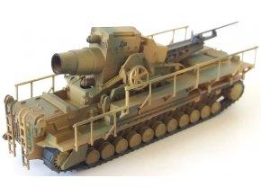 Easy Model - moždíř Karl-Gerät ''Ziu'', ráže 60 cm, 1/144