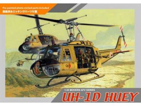 Dragon - UH-1D HUEY, Model Kit 3538, 1/35