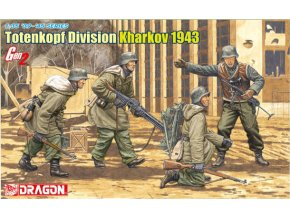 Dragon - figurky 3. SS Panzer Division Totenkopf, Charkov 1943, Model Kit 6385, 1/35