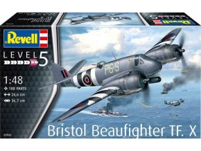 Revell - Bristol Beaufighter TF. X, Plastic ModelKit 03943, 1/48