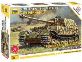 Zvezda - Sd.Kfz.184 Ferdinand, Model Kit tank 5041, 1/72