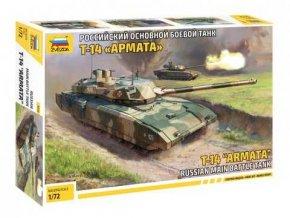 Zvezda - T-14 Armata, Model Kit tank 5056, 1/72