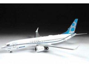 Zvezda - Boeing B737- 8 MAX, Model Kit 7026, 1/144