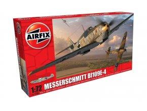 Airfix - Messerschmitt Bf-109E-4, Luftwaffe, Classic Kit letadlo A01008A, 1/72