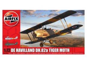 Airfix - De Havilland DH.82a Tiger Moth, Classic Kit letadlo A02106, 1/72