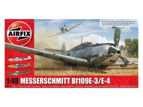 Airfix - Messerschmitt Bf109E-3/E-4, Classic Kit letadlo A05120B, 1/48