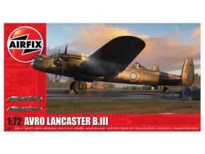 Airfix - Avro Lancaster B.III, Classic Kit letadlo A08013A, 1/72