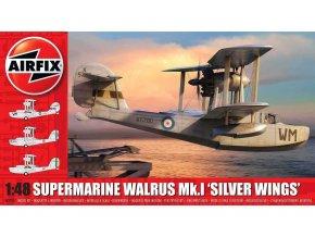 Italeri - Supermarine Walrus Mk.1 'Silver Wings', Classic Kit letadlo A09187, 1/48