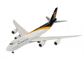 Revell - Boeing B747-8F, přepravce UPS United Parcel Service, Plastic modelkit 03912, 1/144
