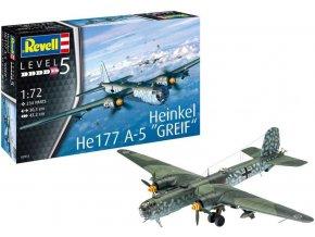 Revell - Heinkel He-177 A-5 Greif, Plastic ModelKit 03913, 1/72