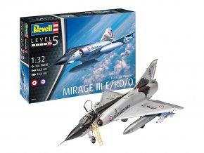 Revell - Dassault Mirage III E, Plastic ModelKit 03919, 1/32