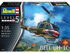 Plastic ModelKit vrtulník 04960 - Bell UH-1C (1:35)