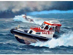 Revell - Rescue Boat DGzRS VERENA, Plastic ModelKit 05228, 1/72
