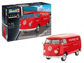 Revell - VW T1 Kastenwagen,  Plastic ModelKit auto 07049, 1/16