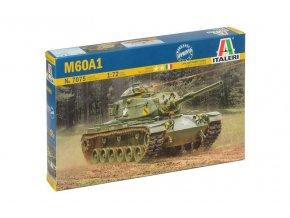 Italeri - M60A1 Patton, Model Kit military 7075, 1/72
