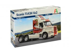 Italeri - truck Scania T143H 6x2, Model Kit 3937, 1/24