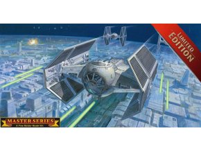 Revell - Star Wars - Darth Vader's TIE Fighter, Plastic ModelKit SW Limited Edition 06881, 1/72