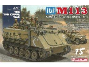 Dragon - M113, izraelské obranné síly, Jomkipurská válka, 1973, Model Kit 3608, 1/35