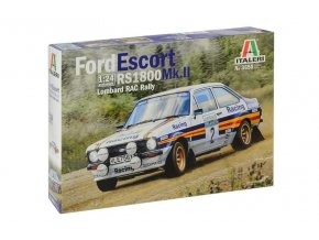 Italeri - Ford Escort RS1800 MK.II, Lombard RAC Rally, Model Kit auto 3650, 1/24