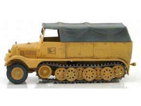 Hobbymaster - Sd.Kfz. 11 Half Track, Wehrmacht, 21.obrněná divize, Francie, 1944, 1/72