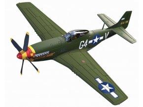 Corgi - North American P-51D Mustang, USAAF, 362nd Fighter Squadron, Lt. Julian H Bertram, 1/72