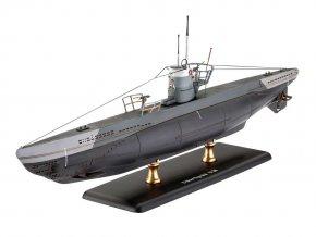 Revell - ponorka Type IIB, Kriegsmarine, 1943, Plastic ModelKit 05155, 1/144