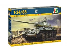 Italeri - T34/85 Mod. 1944, Model Kit 6545, 1/35