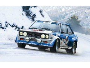 Italeri - FIAT 131 Abarth Rally, Model Kit 3662, 1/24