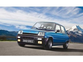 Italeri - Renault 5 Alpine, Model Kit 3651, 1/24