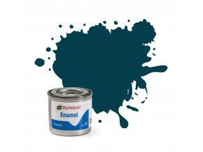 Humbrol - barva emailová 14ml - No 230 Pru Blue - Matt, AA1822