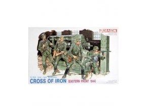 Dragon - figurky německá pěchota ''Železný kříž'',Model Kit 6006, 1/35
