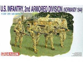 Dragon - figurky U.S. Infantry - americká pěchota, Model Kit 6120, 1/35