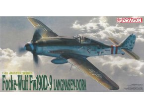 Dragon - Focke-Wulf Fw-190D-9 'LANGNASEN-DORA', Model Kit 5503, 1/48