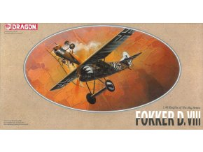 Dragon - Fokker D.VIII, Model Kit 5907, 1/48